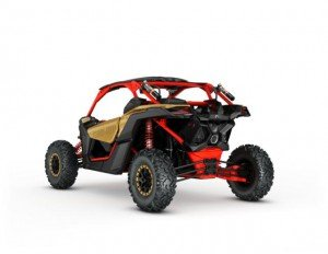 2017 Maverick X3 X rs TURBO R Gold and Can-Am Red_3-4 back_jpg