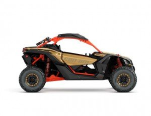 2017 Maverick X3 X rs TURBO R Gold and Can-Am Red_side right_jpg