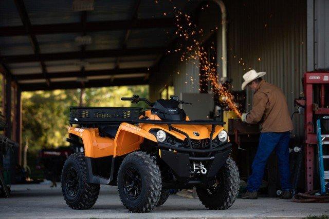 Outlander DPS 570 Orange - Grinding