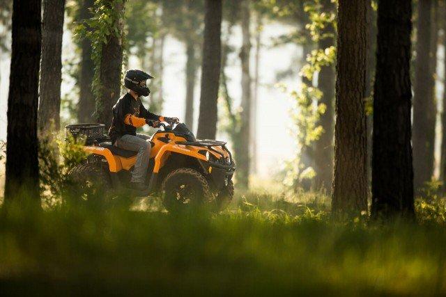 Outlander DPS 570 Orange - Trail riding