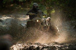 Renegade Xmr 1000R - Sunburst Yellow - Mud riding 5