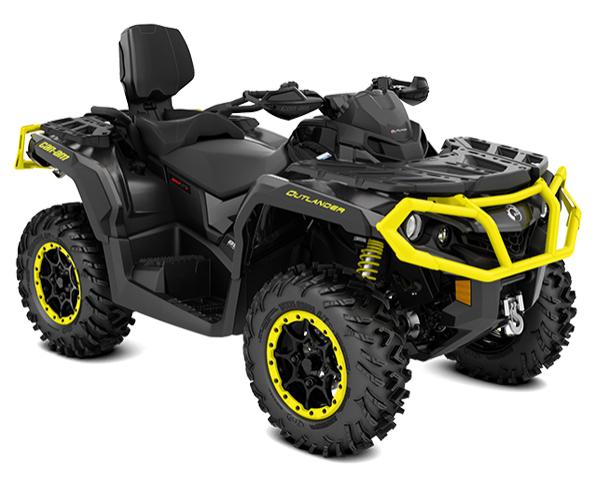 Outlander MAX 1000R XT-P Carbon Black & Sunburst Yellow — 17 600 EUR*