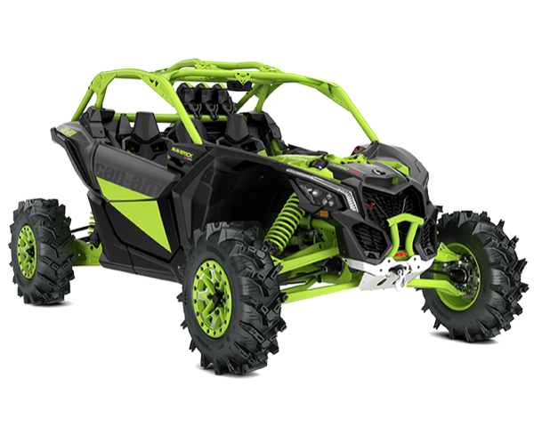 Maverick X3 XMR Turbo RR Iron Gray & Manta Green — 30 700 EUR*